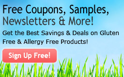 Gluten-Free samples & coupons