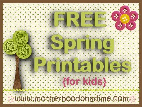 Spring-Printables