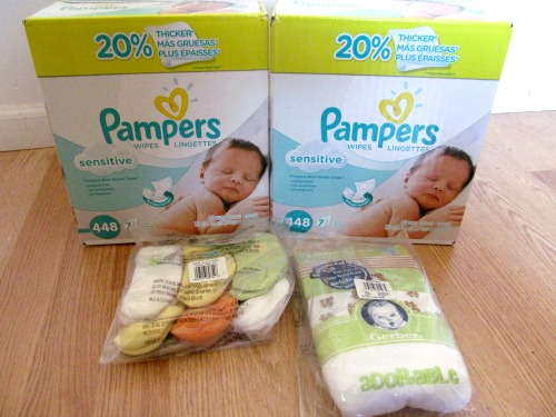diaper wipes