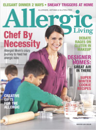 Free issue of Allergic Living magazine