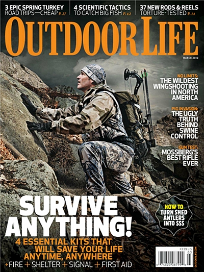 Free subscription to Outdoor Life magazine