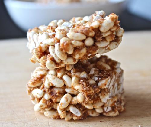 Healthy rice crispy treats