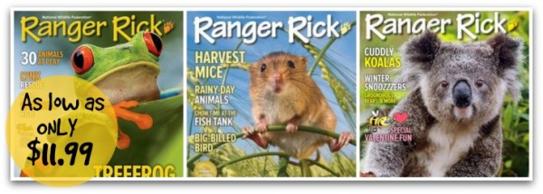 Ranger Rick Magazine Subscription For As Low As 11 99 Per