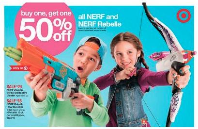 Nerf Gun Deal at Target