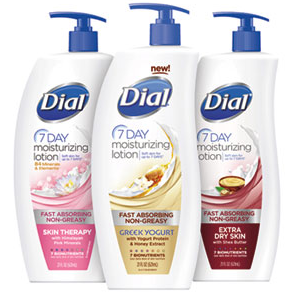 Free Dial Lotion sample