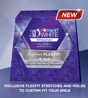 Free sample of Crest 3D Whitestrips