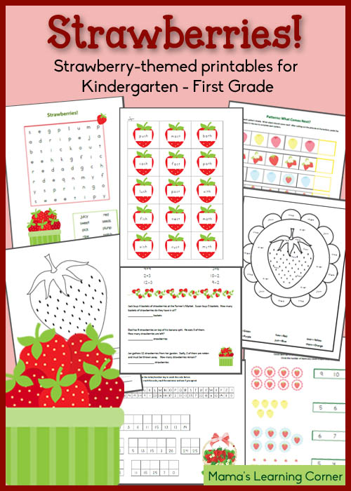 Strawberry-Worksheets