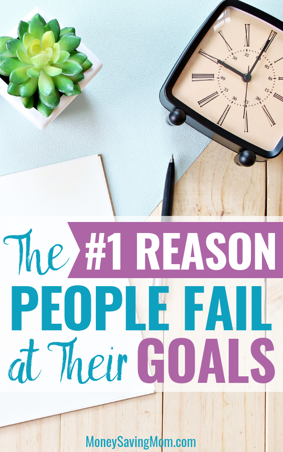 Feel like you always fail at your new goals? Read this for encouragement and practical advice!