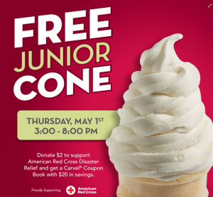 Free Junior Cone at Carvel