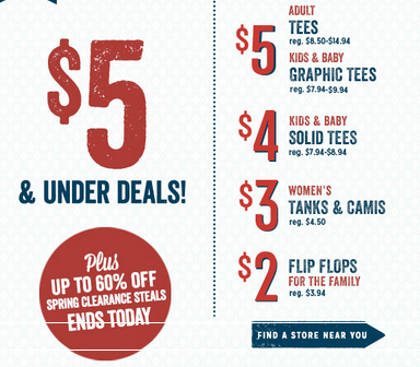 old navy sale today