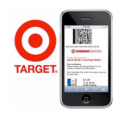 new target mobile coupon 10 off 50 grocery purchase money saving mom. Black Bedroom Furniture Sets. Home Design Ideas