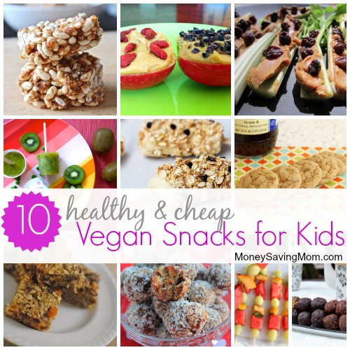 10 Healthy And Cheap Vegan Snacks For Kids Money Saving Mom