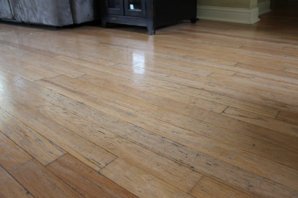 Help what 39 s the best way to clean wood floors money for Different flooring throughout house