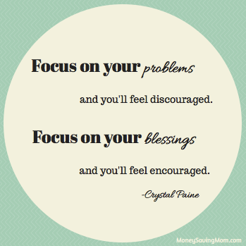 Focus On Your Blessings