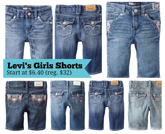 Levi's Jean Shorts for $6.40