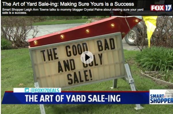 The Art of Yard Sale-ing