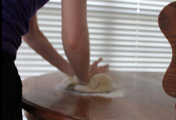 Making Homemade Cinnamon Rolls