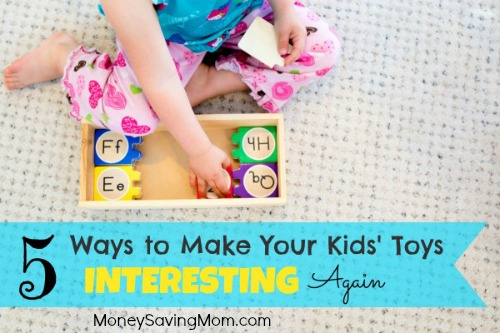 5 Ways to Make Your Kids' Toys Interesting Again
