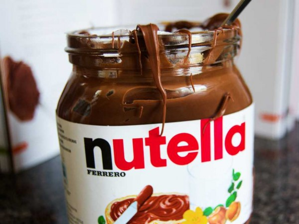 Free jar of Nutella