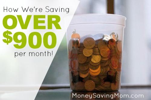 saving 900