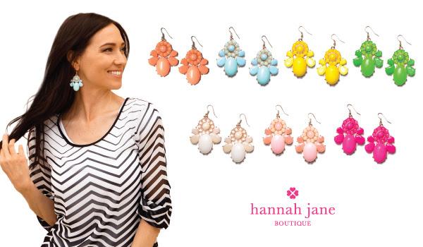 Statement Flower Earrings for $3.99 shipped