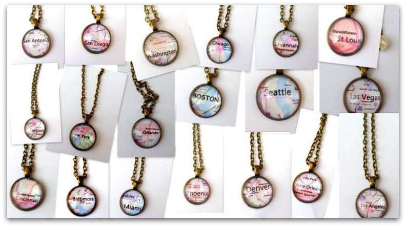 Create your own city necklace for 1099 shipping money saving what a fun way to create a special keepsake of your favorite city pick your favorite city and receive a custom made city necklace for 1099 aloadofball Choice Image