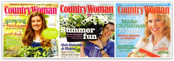 Country Woman Collage