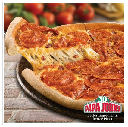 Papa John's: Get two medium one-topping pizzas for just $5 each!