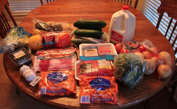 ALDI & Kroger Grocery Shopping Trip