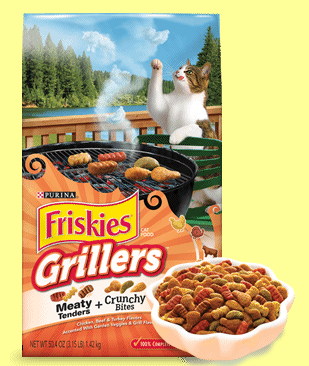 Free Friskies Grillers sample