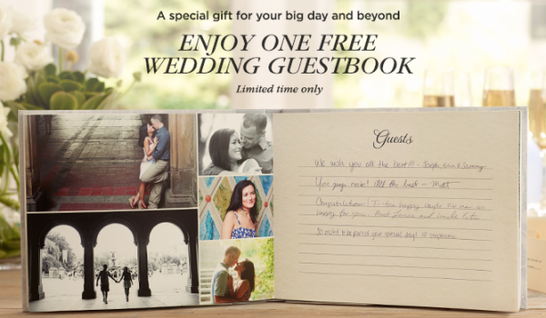 Free Shutterfly Wedding Guestbook