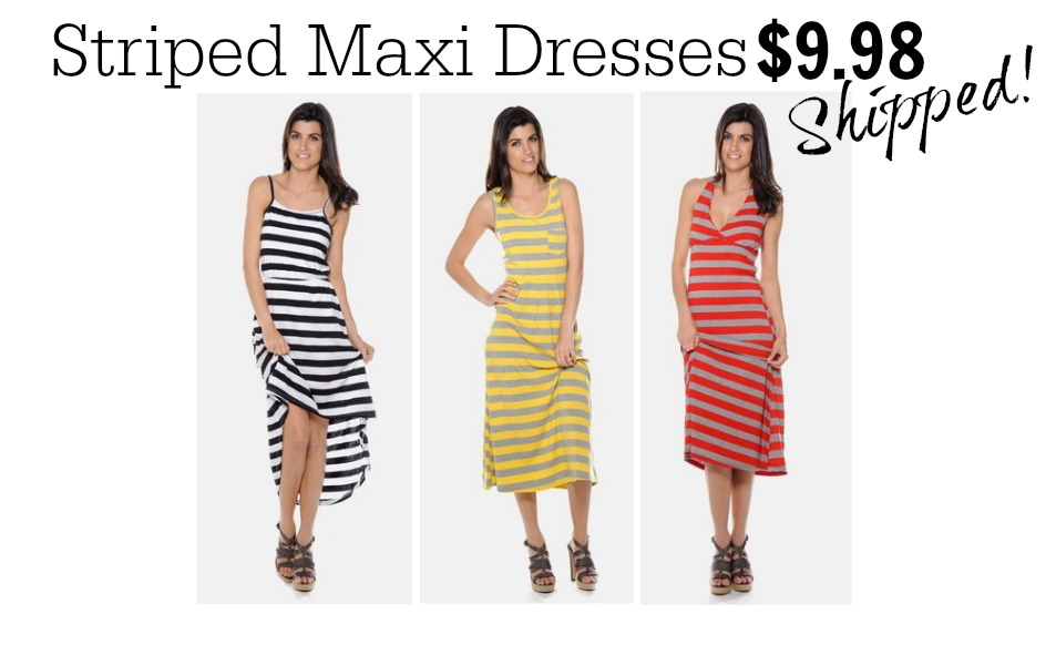 Striped Maxi Dresses