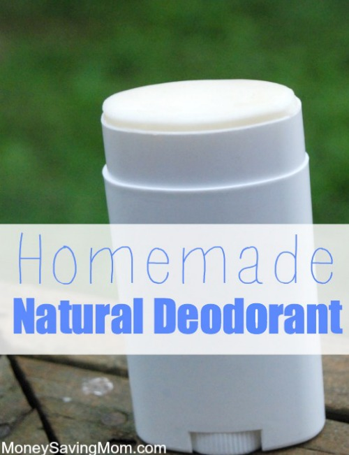 I love this idea for homemade deodorant! Smells so good!