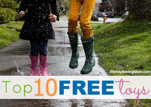top ten free toys