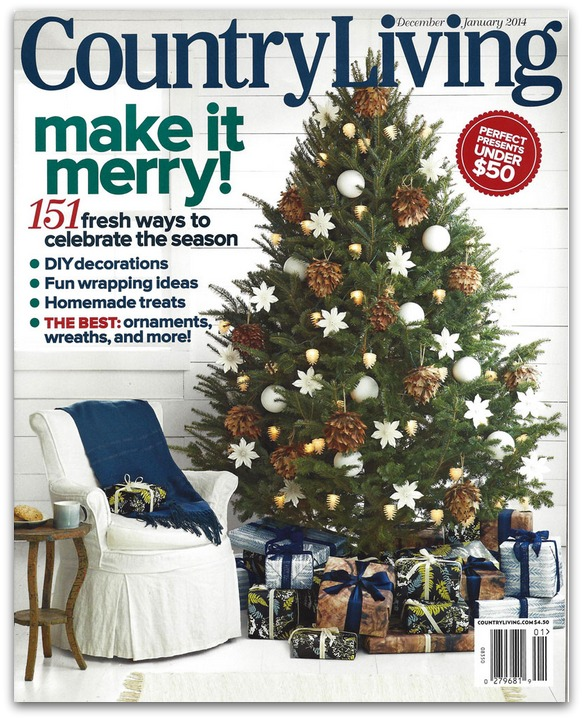 Country Living Magazine Subscription For $5.99 Per Year