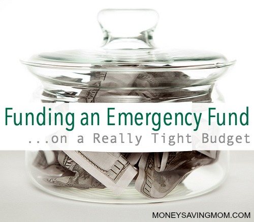 Funding an Emergency Fund