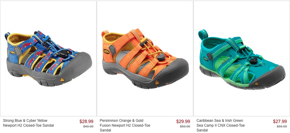 8915c44e90 Zulily has a great sale event today on KEEN shoes for Men, Women, and Kids.  You'll find KEEN shoes up to 65% off!
