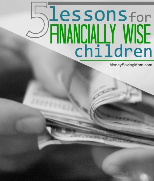 financially wise children