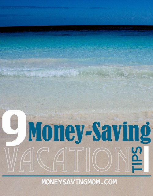 money-saving vacation tips