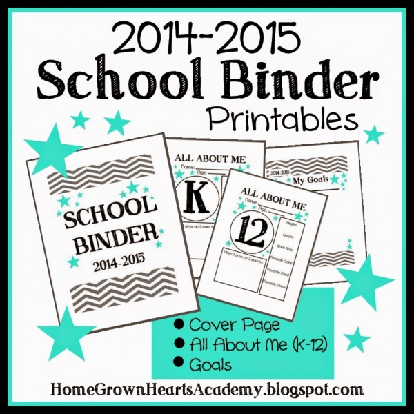 Free School Binder Printables - Money Saving Mom®