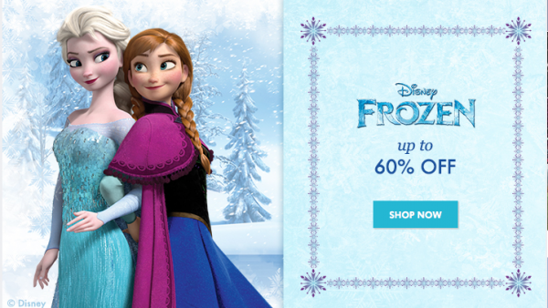 Disney's Frozen items sale