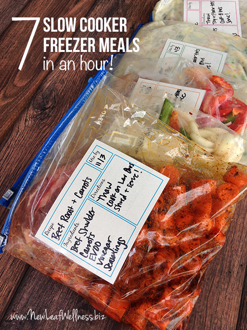 Seven-slow-cooker-freezer-meals-in-an-hour