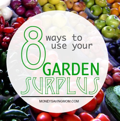 garden surplus