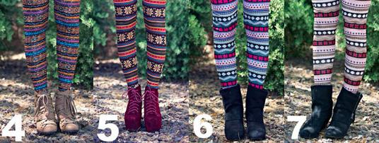 Fleece Leggings 1