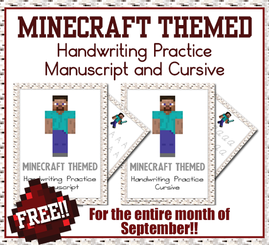 Minecraft-Themed-Handwiring-Practice-Includes-Manuscript-and-Cursive-FREE3