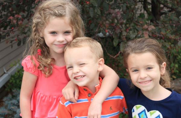 My three precious kiddos
