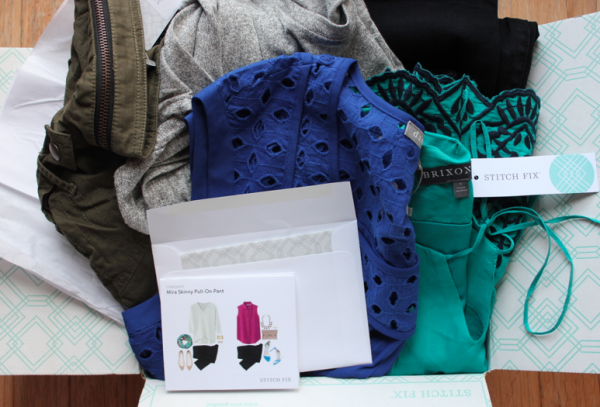 very first Stitch Fix box