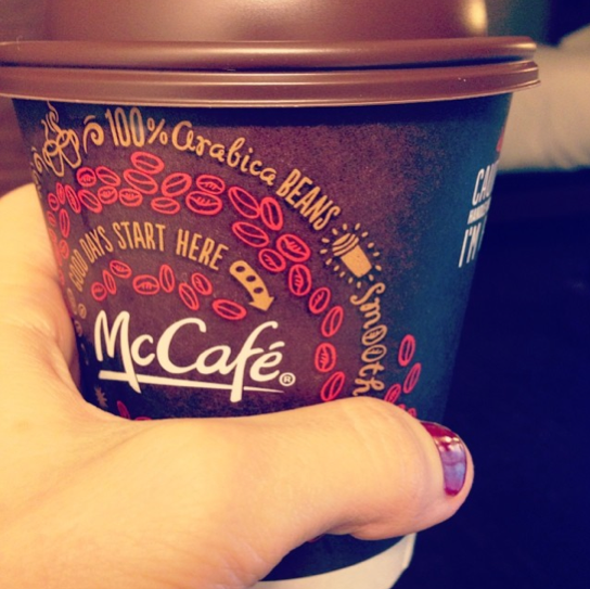 Free McDonald's Coffee