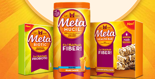 Free MetaMucil Fiber Bar sample
