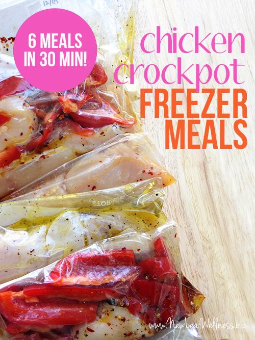 Six-Chicken-Crockpot-Freezer-Meals-in-30-Minutes